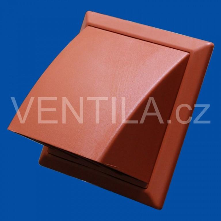 Větrací mřížka protidešťová cihlová VP 125/200x200 HPMc