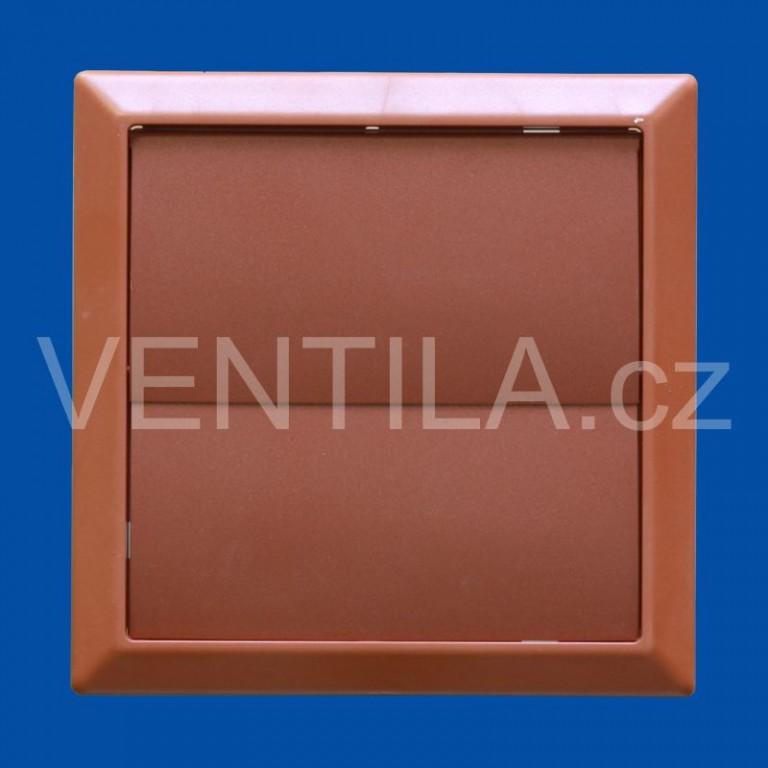 Větrací žaluzie cihlová VP 100/154x154 HMZc