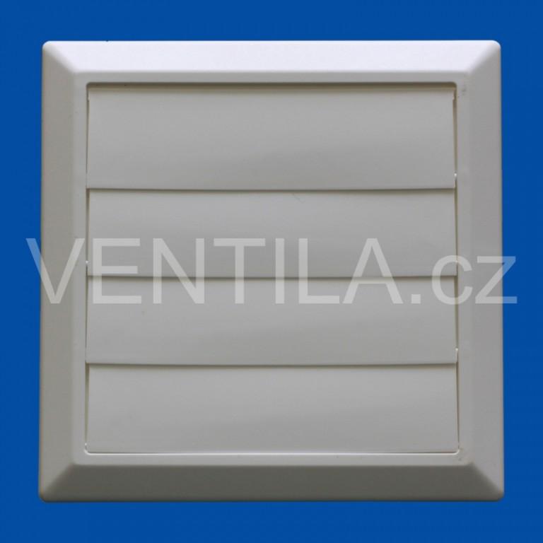 Větrací žaluzie bíla VP 150/200x200 HMZb